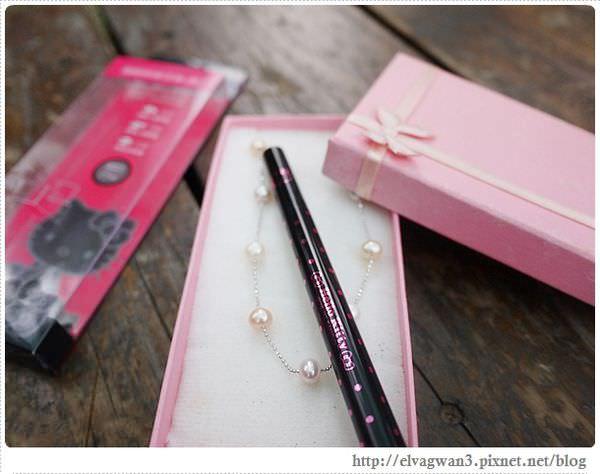 [彩妝] LSY林三益Hello Kitty 極細眼線液筆 — 一般眼線,可愛圓眼,上揚型眼線,下垂眼線一次學會 ♥