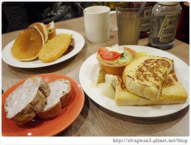 [捷運西門站] 花嘴廚房–台北竟然也有如此平價的早午餐